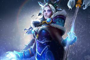 Загрузочный экран «Ascendant Crystal Maiden» - Кейсы Дота 2