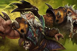 Загрузочный экран «Ascendant Lone Druid»
