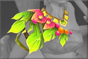 Auspicious Araceae's Tribute Necklace - Кейсы Дота 2