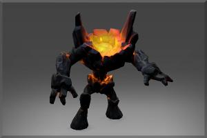 Auspicious Obsidian Golem - Кейсы Дота 2