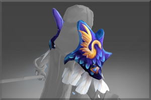 Auspicious Pauldrons of the Frozen Feather - Кейсы Дота 2