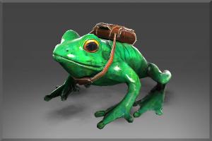 Удачливый Skip the Delivery Frog