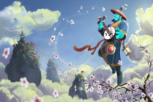 Загрузочный экран «Blossoming Harmony»