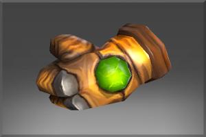 Emerald Frenzy Glove - Кейсы Дота 2