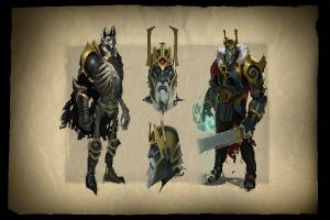 Загрузочный экран «Envisioning Wraith King» - Кейсы Дота 2
