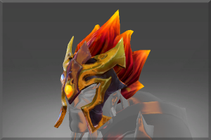 Flaming Hair of Blaze Armor