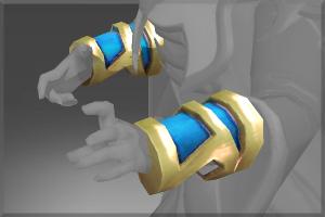 Genuine Cuffs of Quas Precor - Кейсы Дота 2