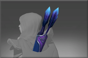 Genuine Quiver of the Black Wind Raven