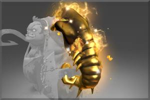 Golden Scavenging Guttleslug - Кейсы Дота 2