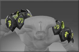 Heroic Shoulders of Claszureme - Кейсы Дота 2