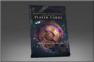The International 2019: набор карточек игроков