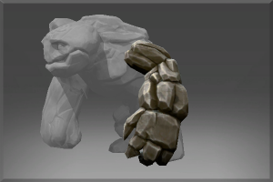Left Arm of the Igneous Stone