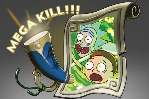 Мега-убийства: Рик и Морти - Кейсы Дота 2