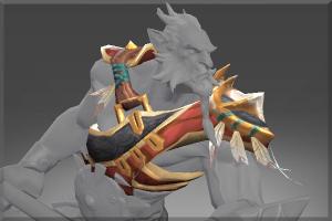 Noble Warrior Shoulder - Кейсы Дота 2