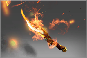 Off-Hand Blade of the Wandering Flame - Кейсы Дота 2