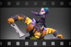 Taunt: Ogre Hop - Кейсы Дота 2