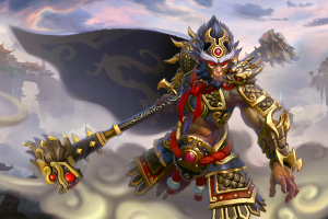 Загрузочный экран: The Havoc of Dragon Palace - Кейсы Дота 2