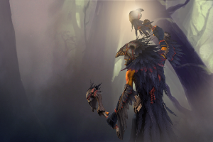 Загрузочный экран «True Crow» - Кейсы Дота 2