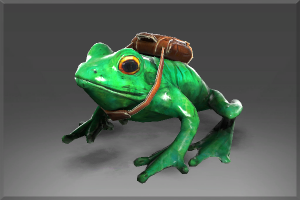 Unusual Skip the Delivery Frog - Кейсы Дота 2