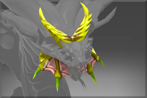Venomous Deathbringer Head - Кейсы Дота 2